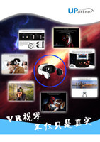 Wholesale UPartner New Virtual Reality Glasses VR BOX for D Movies or Games Headset