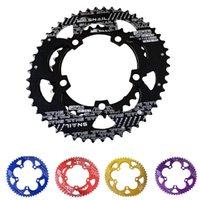Wholesale SNAIL BCD T C Road Bike Bicylcle T6 Alloy Oval Chainwheel Kit Ultralight Ellipse Climbing Power Chain Plate Set
