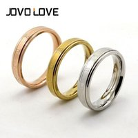 Wholesale 3pcs Ring or Bangle Gold Carving Roman Numerals Men And Women Stainless Steel Lover Bangle Bracelet Wedding Couple Jewelry Set