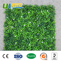 Wholesale ULAND quot x20 quot Artificial Plants Fence Plastic Garden Fence Privacy Screen Outdoor Decorative Artificial Foliage Hedges