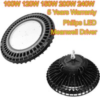 airport project - Meanwell UFO LED High Bay Lights Philips Nhia LED Industrial Lamp IP65 Indoor Outdoor LED Project Lighting W