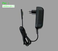 Wholesale microsoft surface pro charger wall charger V A output adapter i5 i7 version black travel charger