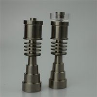 Wholesale Adjustable Highly Educated Titanium Domeless E Nail for mm mm Enail Coil mm mm mm Domeless Titanium Nails
