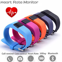 Wholesale Waterproof Bluetooth Bracelet Smart Wristband Heart Rate Monitor Pedometer TW64S for IOS And Android Smartphone