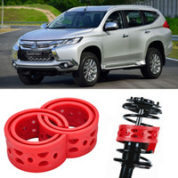 Wholesale 2pcs Super Power Rear Car Auto Shock Absorber Spring Bumper Power Cushion Buffer Special For Mitsubishi Pajero sport