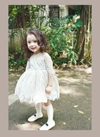 american minute - 2 Color Girls Baby Bud silk minutes of sleeve Dresses Princess tutu Dress Children s