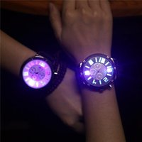 beautiful sports watch - silicone watches luminous quartz watch Beautiful fashion Sports watches clocks watches Women Dress watches Men Sports Watches