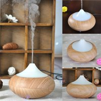 aroma lamp oil - 2016 Changing Color Ultrasonic Humidifier Essential Oil Diffuser Aroma Lamp Aromatherapy Electric Aroma Diffuser Mist Maker GX K