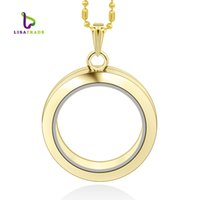 Glass locket charms wholesale canada best selling glass locket 30mm gold round magnetic glass floating charm locket zinc alloychains included for freelsfl02 2 aloadofball Choice Image