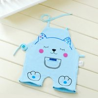 apron china - ZS AG09 Summer hot Lovely cat pattern child apron set with leg cooking dustproof dress baby bibs from China factory