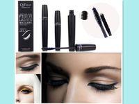 best eye lash mascara - hot sale high quality makeup eyes long lasting D mascara Qi best fiber lashes set fiber mascarea