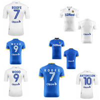 Wholesale 2016 Leeds United jerseys top thai quality home away shirts eglish league shirts wood ROOFE