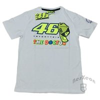 Wholesale 2016 Luna Rossi VR46 FORTYSIX The Doctor T shirt Moto GP Sport Sky Racing Team Life Style VR Sports M1 Summer T shirt