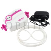 airbrush nail art equipment - OPHIR mm Airbrush Kit Adjustable Speed White Mini Air Compressor for Makeup_AC094W AC004 Nail Art Equipment