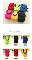 Wholesale Sports Running Jogging Gym Armband Arm Band Holder Bag For Mobile Phones More Colors Wholesales