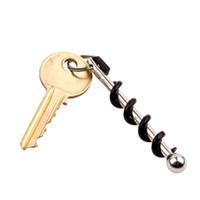 Wholesale Flexsteel True Utility TU48 Twistick Pocket Multi Functional Stainless Steel Key Ring Keychain Wine Bottle Opener Corkscrew