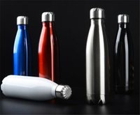 Wholesale Stainless Steel Water Bottle Cola Shaped Insulated Double Wall Vacuum Creative Thermos bottle Vaccum Insulated Cups