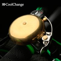 bell equipment - CoolChange Bicycle retro copper bell mountain bike folding bikes road car loud echoes the bell bell cycling equipment