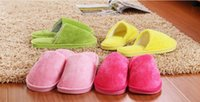 Wholesale New Winter Indoor Slippers Plush Home Shoes Unicorn Slippers for Grown Ups Unisex Warm Home Slippers Shoes Types