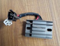 Wholesale Voltage Regulator Rectifier wire male plug wire female plug for Motorcycle GN125 GS125 EN125 GZ125 GZ250 AN125 AN150