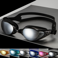 Wholesale Women And Men Anti Fog Cycling Eyewear Seal Swim Mask Waterproof Adult Swimming Goggles Type Shortsighted Glass or Plain Glass Spectacles