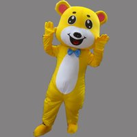 amusement clothing - Hot Sell Cute Bear Mascot Costume Personalized Clothing Animal Bear Cartoon Character Amusement Park Equipment