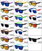Piel DHL gafas de sol libres de la PC Promoción Plaza Ken Block timón ciclo de los deportes al aire libre gafas de sol de la marca de fábrica Negro venta serpiente óptica caliente barato