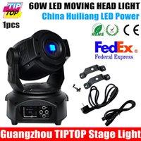 Wholesale Hot Selling W Led Moving Head Light CH DMX Led Moving Head Spot Light USA Luminous FOCUS Facet Gobo Light V Moving Head