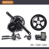 Wholesale v w fun bafang C965 motor BBS02 crank Motor eletric bicycles trike ebike kits