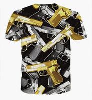cartoon print t-shirt - Personalized Creative D Men s Digital Printing T Shirts Cartoon Anime Men s Short Sleeve t Shirt Men Fashion Novelty Cartoon Shirt