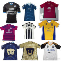 america pullover - 2016 Mexico clud Tigres UANL Chivas Guadalajara Atlas soccer jerseys America Mexico Cougar Santos Cruz Azul Queretaro football shirt