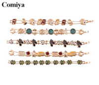 animated baby animals - Comiya character frog bracelet animate gold chain bracelets green baby cute small animal Adjustable size alloy jewelry