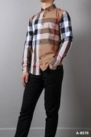 Wholesale The new shop business casual fashion classic plaid cotton cultivate one s morality