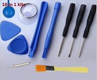 Wholesale 4 types of REPAIR PRY KIT OPENING TOOLS With Point Star Pentalobe Torx Screwdriver For APPLE IPHONE iphone G