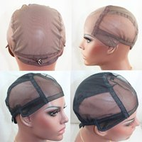 adjusting lace wigs - wig caps for making wigs only stretch lace weaving cap adjust back high quality guarantee