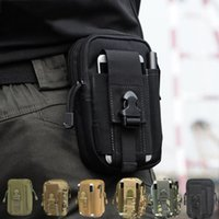 Wholesale Outdoor Tactical Waist Fanny Pack Belt Bag EDC Camping Hiking Pouch Wallet Phone