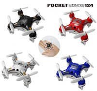 Wholesale Fashion professional Pocket micro Drone CH mini quadcopter With Switchable Controller RTF RC helicopter Toys F15170