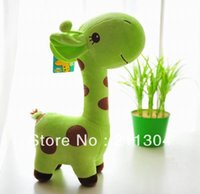 Wholesale Super Large Teddy Bear - (Large size)Free Shipping Plush Toy giraffe super cute doll stuffed animals 50cm tall soft toys kids friends christmas gifts
