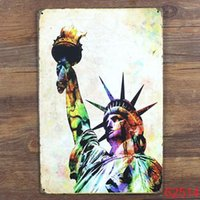 Wholesale Colorful New York Tin Sign Bar pub home Wall Decor Retro Metal Art Poster