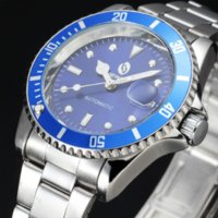 battery automation - 2016 SEWOR Brand Hollow Stainless Steel Skeleton Design Mens Watches Automation Mechanical Male Clock Sport Army Wristwatches