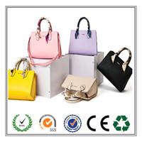 Wholesale 2016 Hot Sale Nwe Women s Casual Briefcase Business Shoulder Genuine Leather Bag Women Messenger Bags Computer Laptop Handbag Bag WomenTrav