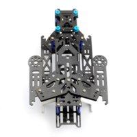 american fighter - New EMAX Transformer Carbon Fiber Quadcopter Kit Frame BLUE frame natural fiber american fiber american