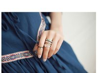 Cheap fashion Ethnic Knuckle midi Ring Best alloy Finger Nail Rings