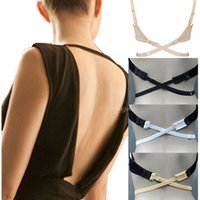 Wholesale Low Back Bra Straps Converter Sexy Fashion Bra Belt for Low back Dresses Backless Fully Adjustable Bra Extenders Hook
