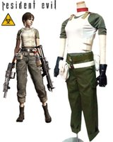Wholesale Resident Evil Rebecca Chambers Game Cosplay Costumes