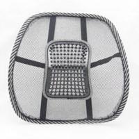 Wholesale Comfortable Mesh Chair Relief Lumbar Back Pain Support Car Cushion Office Seat Chair Black Lumbar Cushion