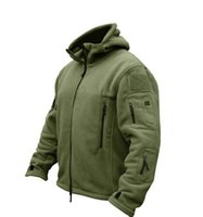 Wholesale US Military Man Fleece tad Tactical Jacket Outdoor Polartec Thermal Sport Polar Hooded Coat Outerwear Army Clothes