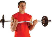 arm weights exercises - Cap Barbell Weight Bar Inch Olympic Curl Bar Gym Fitness Exercise Lifting
