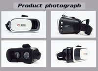Wholesale VR BOX Virtual Reality D Glasses For inch Smartphone Smart Bluetooth Wireless Mouse Remote Control Gamepad