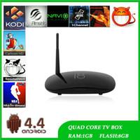 Wholesale Rockchip Android Smart TV Box I8 RK3128 Quad Core Set Top Boxes GB G HD Media Player Mini PC KODI VS MXQ PRO